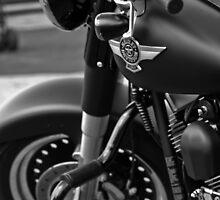 Harley Davidson Motorcycle by ADDuffy
