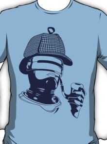 Sherlock Holmes and the Robocop Case T-Shirt