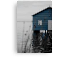 """Crawley Edge"" Boat Shed Canvas Print"