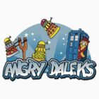 Angry Daleks by Matt Mawson