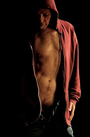 oldman, in the dark, unbuttoned and unzipped... by 1oldman