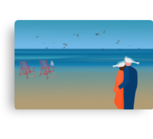 Seagulls - day 20 Canvas Print