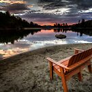 A Bench With A View by Bob Larson