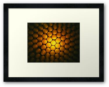 Golden Honeycomb by Bryan Freeman
