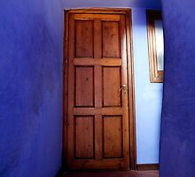 artscapes #77, blue to door by stickelsimages