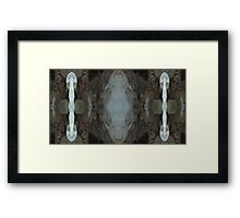 My Cave art 36 Framed Print