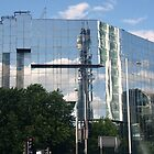 BT Telecom Tower Reflection by Terry Senior