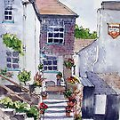 Polperro cottage by Ann Mortimer