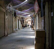 Bazaar of Kerman by Yulia Manko