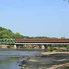 Harpersfield Covered Bridge by Karen K Smith