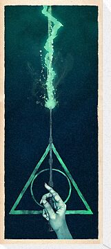 The three Hallows: Lord Voldemort's avada kedavra by Ajeyes