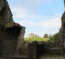 The Rock of Cashel,Through the Ruins of Hore Abbey. by Pat Duggan