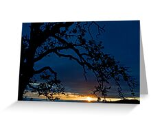 Ankeny Hill Sunset Greeting Card