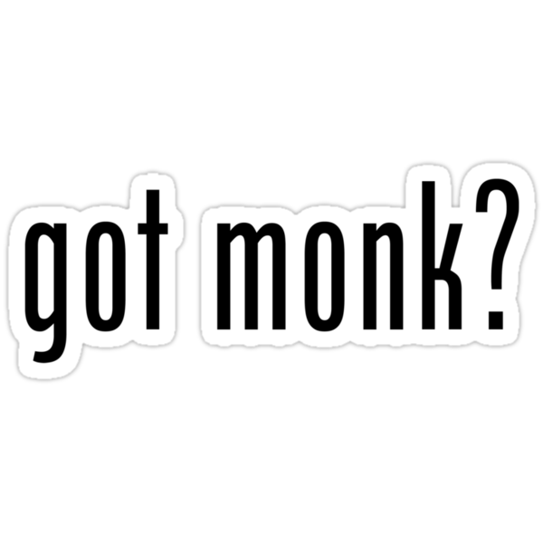 Got Monk? by waywardtees