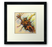 Winter Vine Framed Print