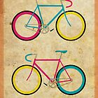 CMYK Bikes ~ Series 1 by hmx23