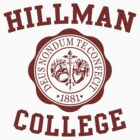 Hillman by waywardtees