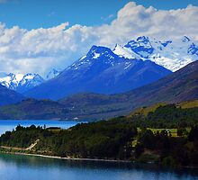 On the way to Glenorchy by Tanya Rossi
