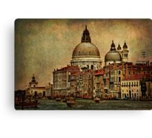 Venice Canal Grande Canvas Print