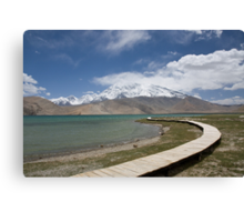 Lake Kara Kul Canvas Print