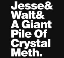 Jesse and Walt and a Giant Pile of Crystal Meth. by Megatrip