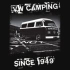 VW Camping T-Shirt by Paul Shellard