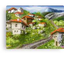 Somewhere in the Rhodopes Canvas Print