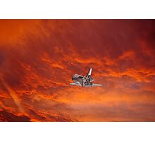 Shuttle Adieux Photographic Print