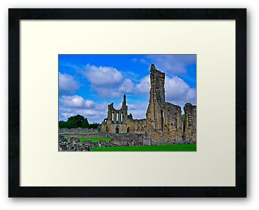 Byland Abbey by Trevor Kersley