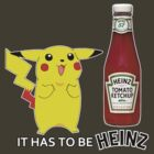 It Has To Be Heinz ~ Pikachu by MissCake