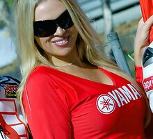 Yamaha Grid Girl | FX Superbikes | Eastern Creek by Bill Fonseca