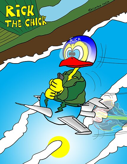 "Rick the chick ""SOUND BARRIER"" by CLAUDIO COSTA"