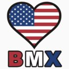 USA Heart BMX by Garrett  Holm
