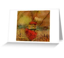 Sailing toward the Lonely Hearts Club Greeting Card