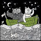 The Owl &amp; The Pussycat Went to Sea by Anita Inverarity
