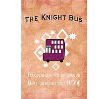 The Knight Bus! Photographic Print
