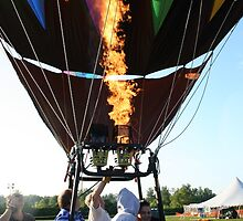 Balloon, Devil Face Flame! by Linda Jackson