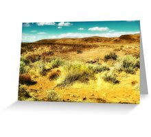Wild West 2 Greeting Card