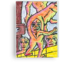 neopolitan butt birth Canvas Print