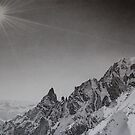 Monte Bianco by Paul Fearn