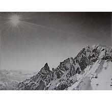 Monte Bianco Photographic Print