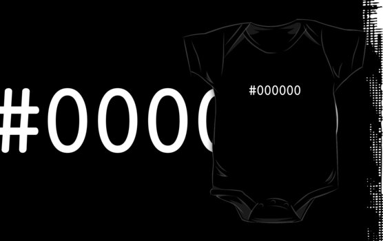 #000000 Shirt by carnivean