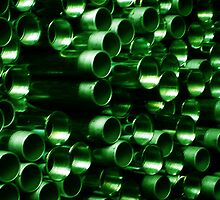 Green Pipe by DAdeSimone