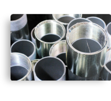 Shiny Pipes ~ pillow collection Metal Print
