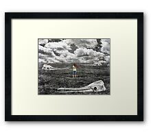 Wasteland Part 2 Framed Print