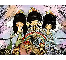 hippy chicks Photographic Print