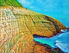 Spitting Caves of Portlock Point by jyruff