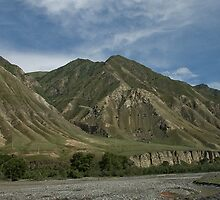 Kyrgyzstan Valley by Gillian Anderson LAPS, AFIAP