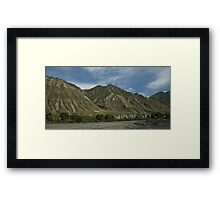 Kyrgyzstan Valley Framed Print