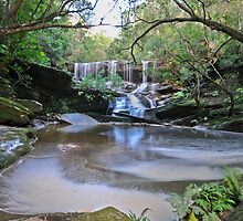 The Grotto, Somersby Falls by bazcelt